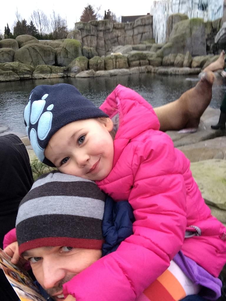 Selfie med en hvalros